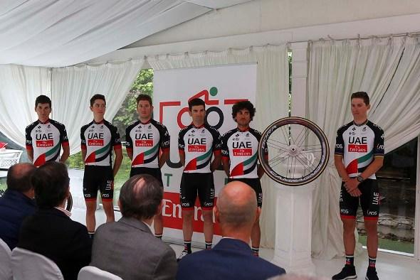 Alcuni corridori selezionati per il Giro100 (Foto Pisoni)