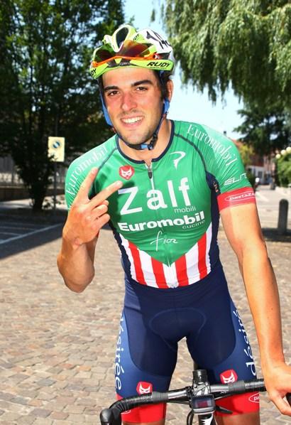 Calderaro indica 2 come le sue vittorie (Foto Berry)