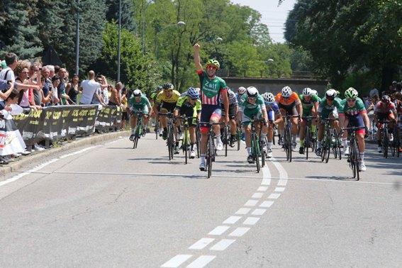 La vittoria di Calderaro (Foto Pisoni)