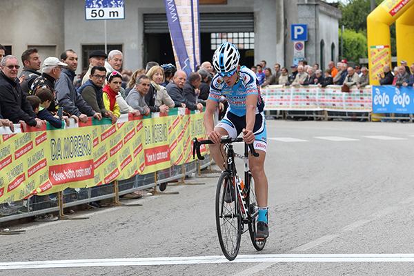 Alessandro Baroni (Equipe Corbettese) 3^ all'arrivo (Foto Kia)