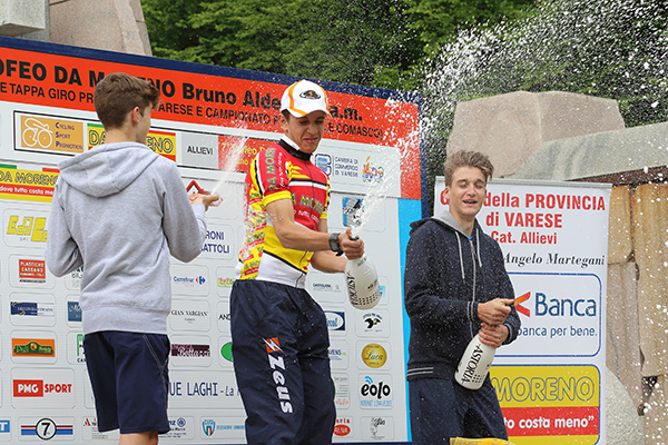 Brindisi sul podio (Foto Kia)