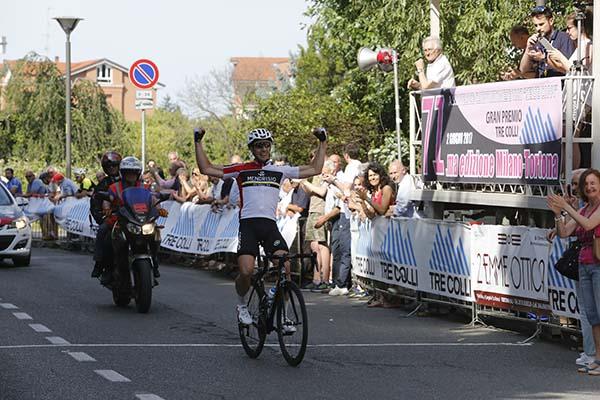 Thierry Cyrille vince per la seconda volta la Milano-Tortona (Pisoni)