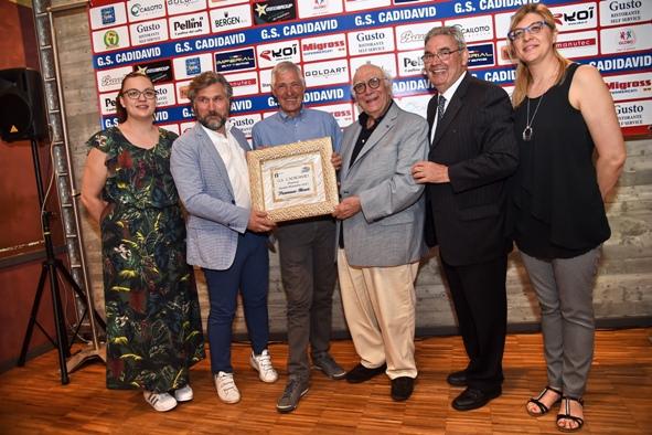 Castel D'Azzano 31.05.2017 - Francesco Moser riceve il Premio Guido Rizzetto (Foto Remo Mosna)