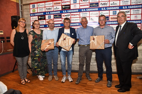 Battista e Roberta Cailotto, Moser Francesco ed altri (Foto Remo Mosna)