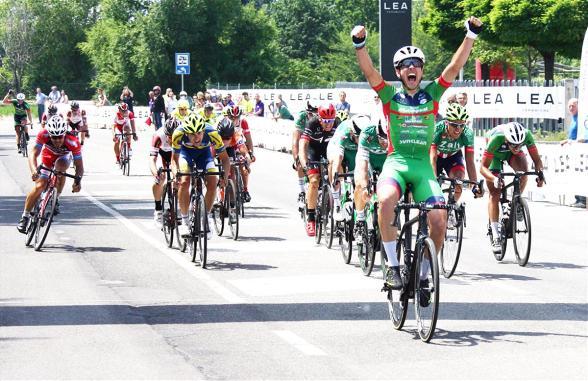 02.06.2017 - Fiorano Modenese - La vittoria di Matteo Moschetti nella 20° Pistoia-Fiorano Modenese (Foto Soncini)