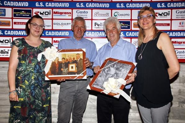 Castel D'Azzano 31.05.2017 - Francesco Moser Premio Guido Rizzetto 2017 premiato con Remo Mosna