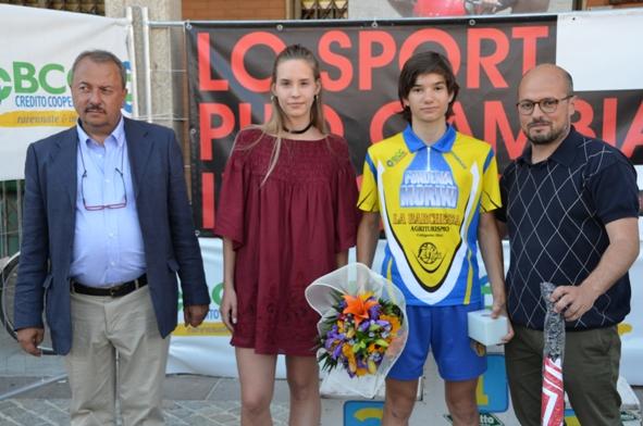 Cav Otello Zama e Riccardo Servadei vincitore della gara
