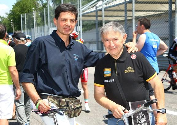 I Giornalisti Danilo Vigano^ e Vito Bernardi (Foto Berry)