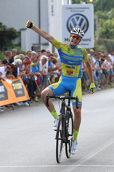Castano Primo, 04.06.2017 La vittoria di Matteo Fantoni (Foto Kia)