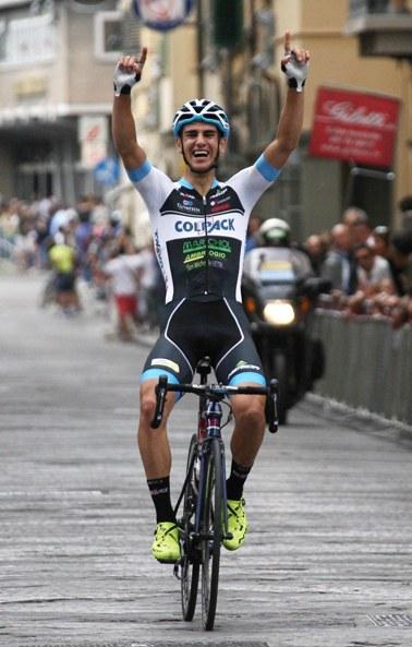 Simone Guizzetti vince a San Giovanni Valdarno (Foto Rodella)