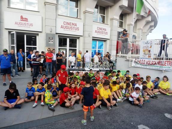 Giovanissimi in attesa inizio gare