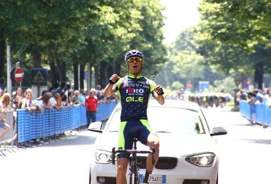 Leonardo Moggio vince a Gessate (Foto Berry)