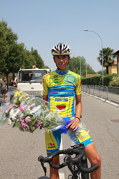Kevin Colleoni 2^ classificato (Foto Kia)