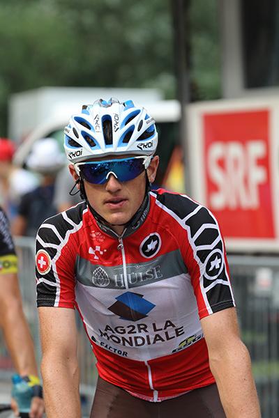 Mathias Frank miglior svizzero (Foto Kia)