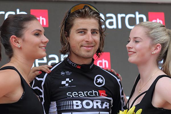 Sagan leader classifica a punti (Foto Kia)
