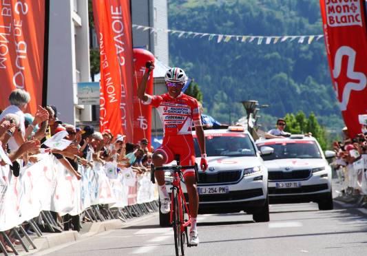 Egan Bernal vince la 2^ tappa del Savoia, 10^ per il Team di Gianni Savio