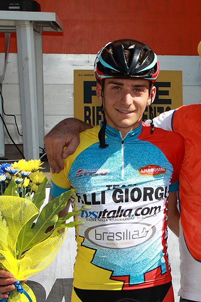 Andrea Scalvinoni vincitore della gara (Foto Kia)