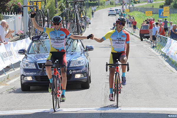 1^ Andrea Scalvinoni, 2^ Imad Sekkak entrambi del Team Giorgi (Foto Kia)