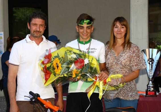 Premiazione Andrea Piras (Foto Berry)