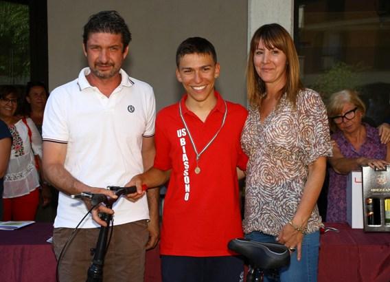 Premiazione Marco Colombo 2^ classificato (Foto Berry(
