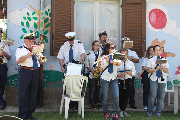 La banda cittadina (Foto Kia)