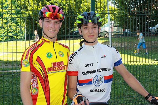 Manuel Oioli e Alessandro Ceci (Foto Kia)