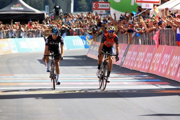 Vincenzo Nibali vince tappa di Bormio (Foto Jean Claude Faucher)