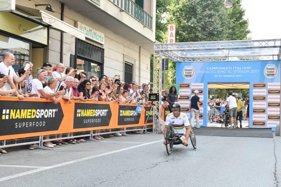 Paralimpico - 8,8 Km Alex Zanardi (La Presse)