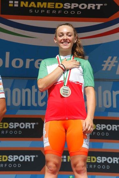 Letizia Paternoster neo Tricolore Donne Junior (Foto Antonio Pisoni)