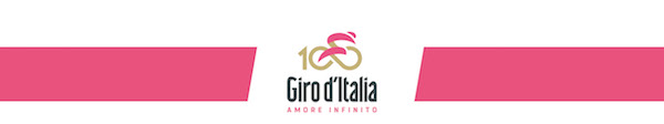 25.01.2017 - Logo GIRO D'ITALIA AMORE INFINITO