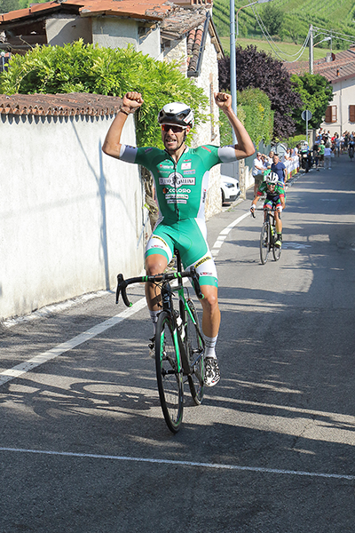 Umberto Marengo vince a Botticino (Foto Kia)