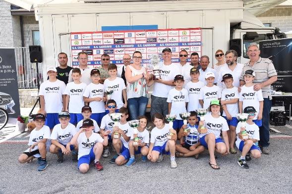 Team Ekoi Petrucci vincitore del Trofeo Cailotto (Foto di Remo Mosna)