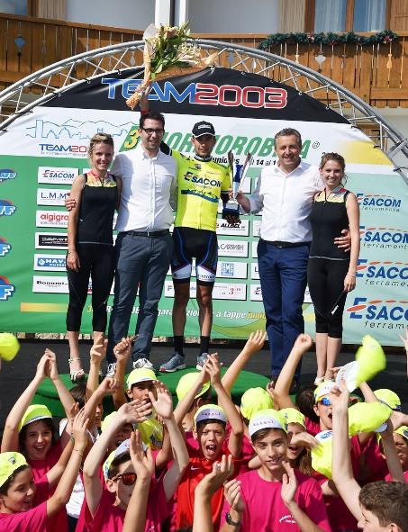 Monaco in maglia di leader edizione 2016 (Rodella)