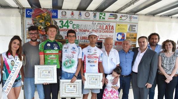 Podio con Amici, Vlasov e Gazzara (Foto Rodella)