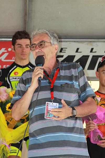 Franco Bocca al microfono (Foto Kia)