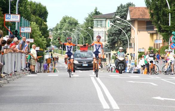 Francesco Galimberti e Andrea Piccolo a Calusco D'Adda (Foto Berry)