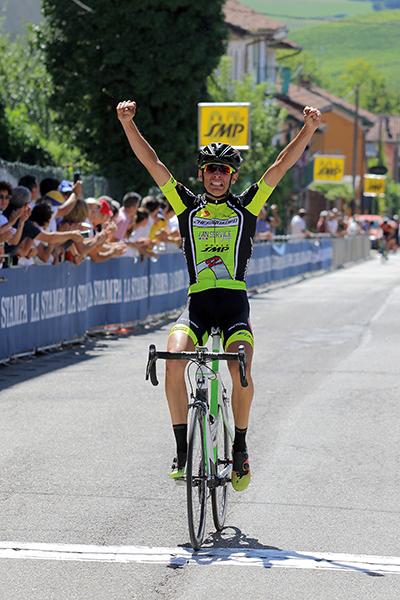 Moro Riccardo vince a Montemagno d'Asti (Foto Kia)