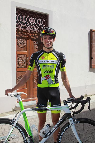 Riccardo Moro vincitore gara Montemagno (Foto Kia)
