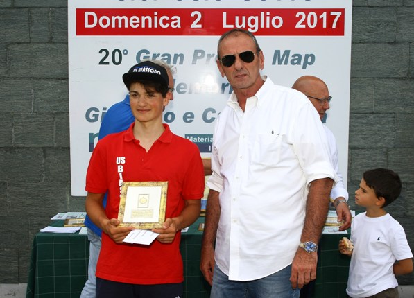Luca Varenna, 3^ classificato (Foto Berry)