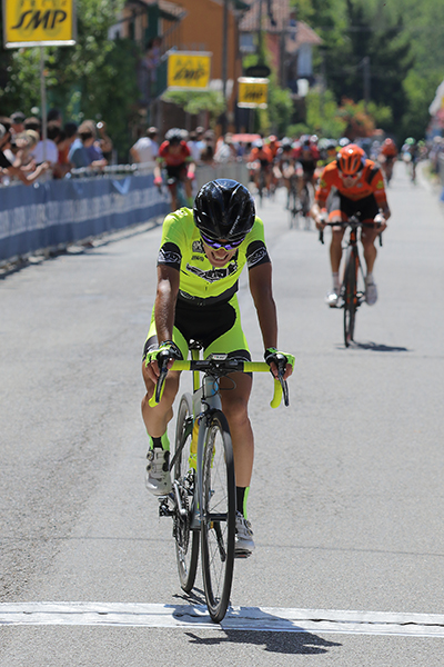 Samuele Rubino 2^ classificato (Foto Kia)