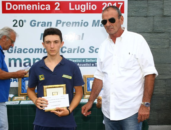 Daniele Donesana, 2^ classificato (Foto Berry)