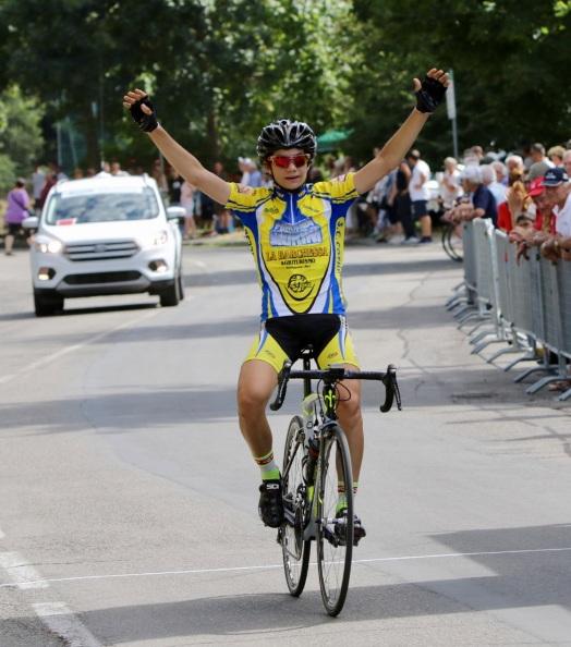 Riccardo Servadei vince a Savignano sul Panaro (Foto Photobicicailotto)