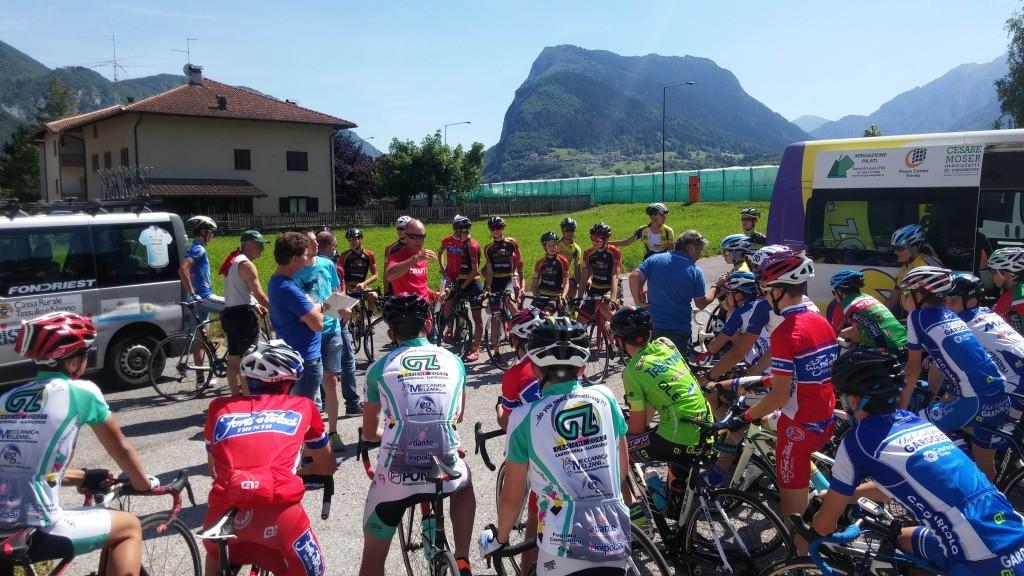 selezione TRENTINA PROVA PERCORSO CAMPIONATI ITALIANI ALLIEVI 2017 (foto Mosna)