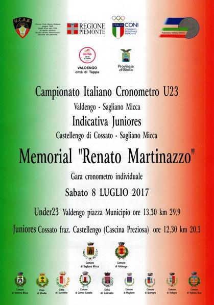 06.07.2017 - LOCANDINA CAMP ITAL CRONO U23