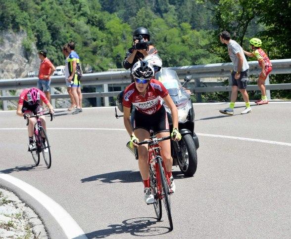Francesca Barale si invola verso il suo secondo Tricolore (Foto Daniele Mosna)