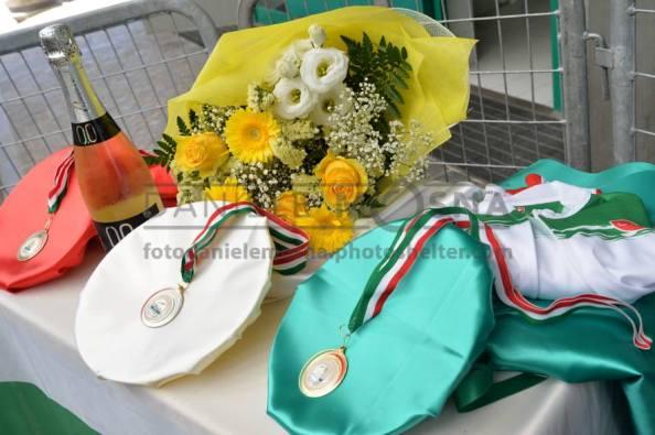 Le tre Medaglie Tricolori (Foto Daniele Mosna)