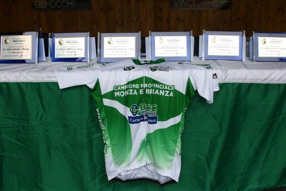 Maglia di Campione Provinciale di Monza&Brianza e Premi di Ornago (Foto Berry)