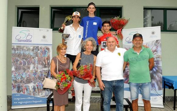 Podio Trofeo Gianni Tagliabue con Organizzatori (Foto Berry)