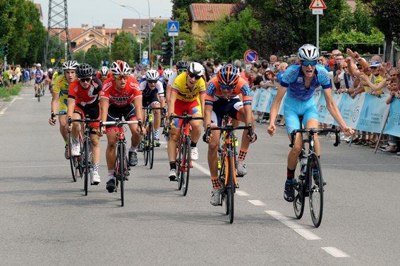 Luca Distasi vince a Bareggio (Foto Berry)