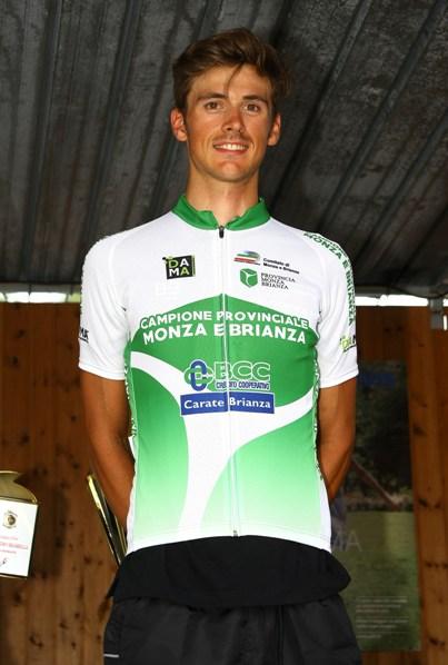Kevin Molinari neo campione provinciale di Monza&Brianza (Foto Berry)